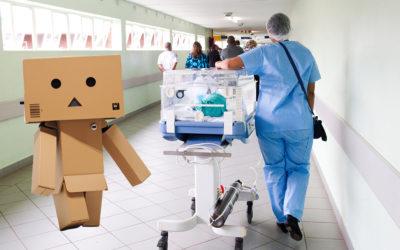 Bouw je ziekenhuis na in karton