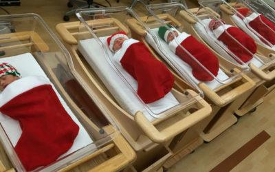 Kerst in het ziekenhuis: 6 originele ideeën